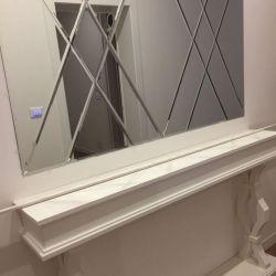 Зеркальное панно Skelko 1000х1500 Фацет 10 мм