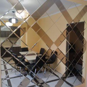 Зеркальное панно 2291х858