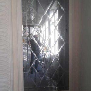 Зеркальное панно Skelko 2700х1100