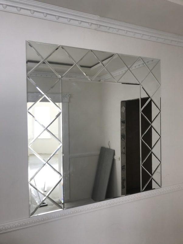 Зеркальное панно 1500x1500