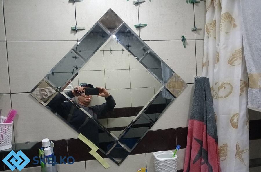 Зеркальное панно Skelko