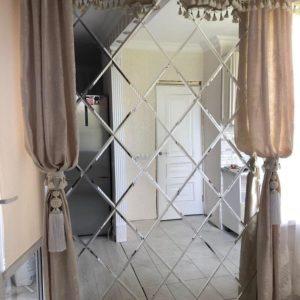 Зеркальное панно 2300x1500