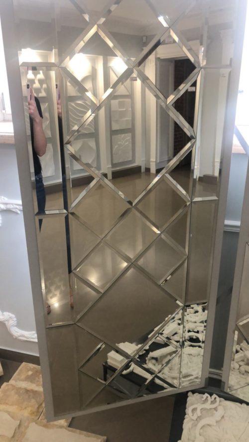 Зеркальное панно 2100*1150