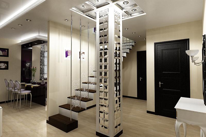 Создайте уникальную атмосферу с помощью зеркал в гостиной